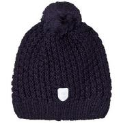 Ticket to heaven Knitted Bobble Hat Navy 49 cm