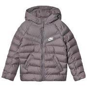 NIKE Hooded Padded Jacket Grey XL (13-15 years)