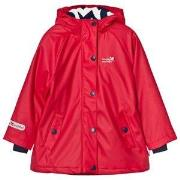 Muddy Puddles Puddleflex New Hooded Jacket Red 18-24 months