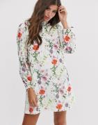 Ted Baker Imane tunic dress in hedgerow print-Multi